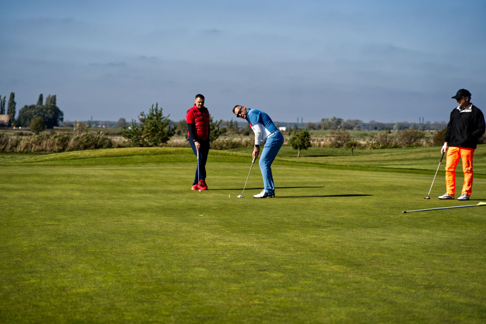 A golf lesson with a professional coach Tomáš Beck