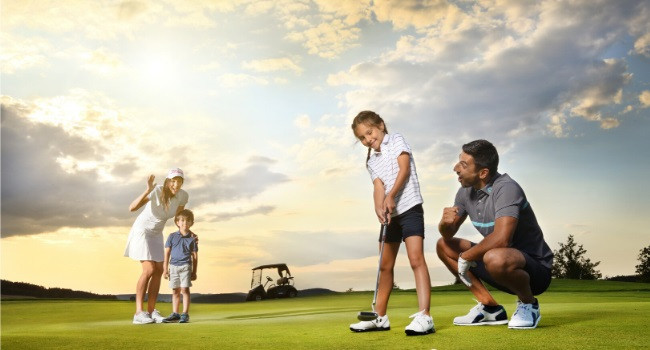 Have you ever played golf before?
