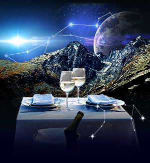 Dinner under the stars Skalnaté pleso