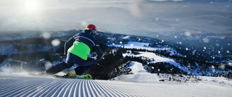 Spring skiing in Vysoké Tatry