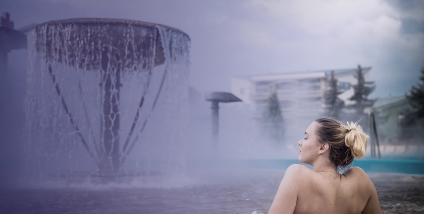 Finally! Relaxation in thermal pools again