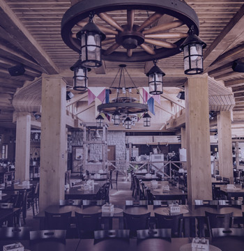 Reštaurácie a obchody