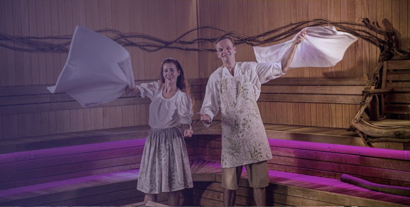 Night of sauna rituals